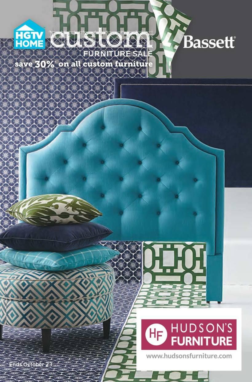 Hudson's Furniture Bassett 2016 Fall Catalog